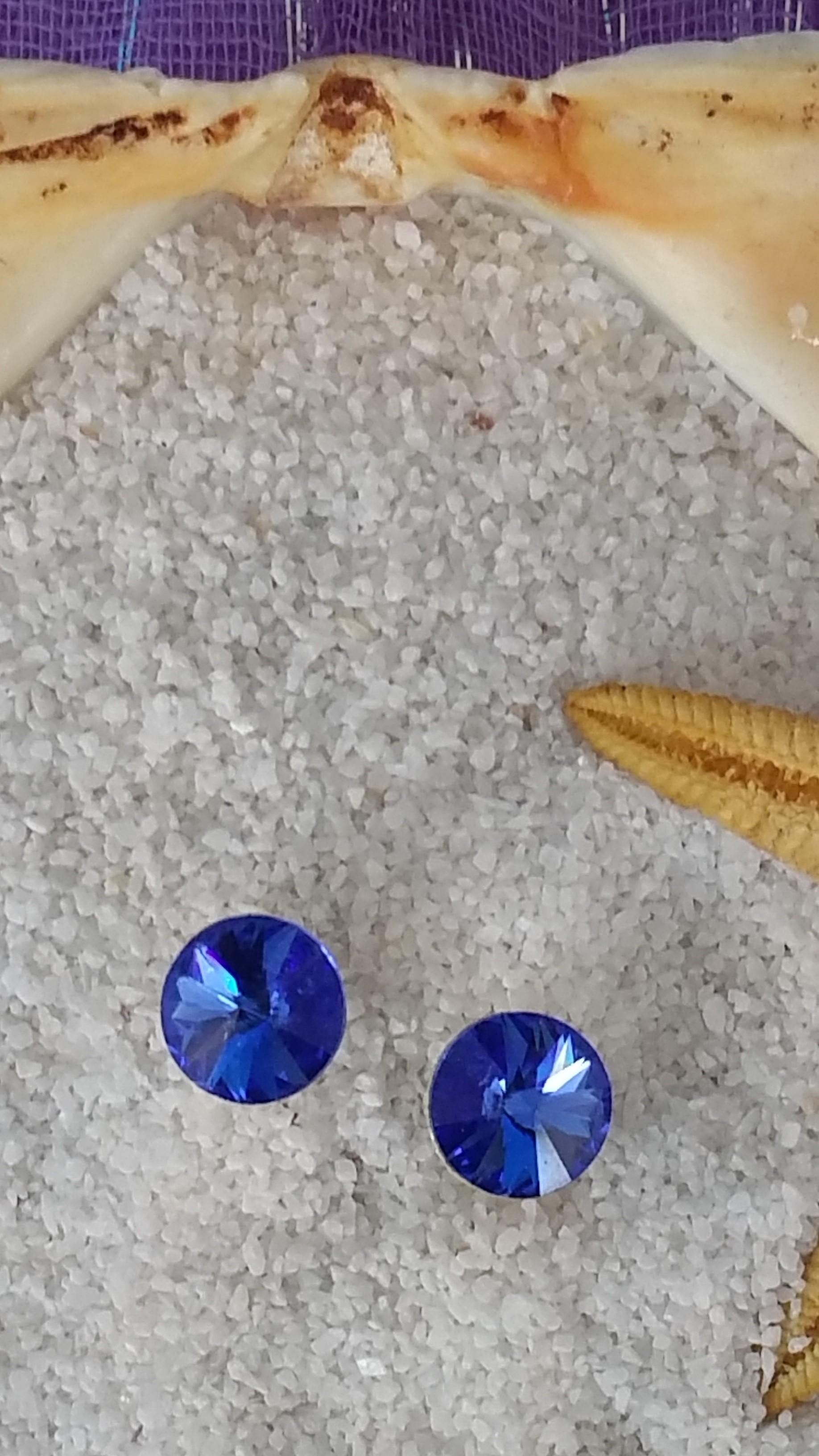 Pendientes Rivoli azules